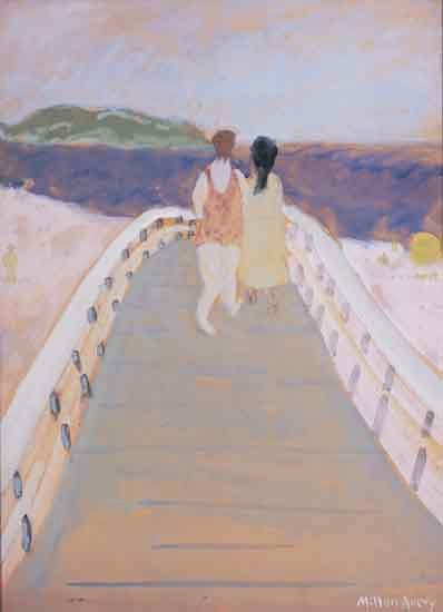 Bridge to the Sea, 1937 - Milton Avery