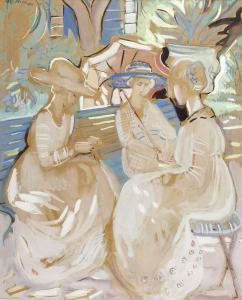 Jardim Com Figuras, 1918 - Mily Possoz