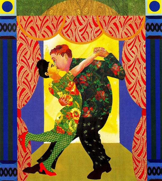 Lover's Labor, 1991 - Miriam Schapiro