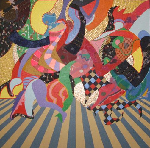 Presentation 3, 1982 - Miriam Schapiro