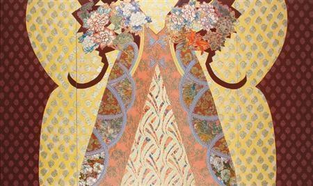 Royal Presence, 1982 - Miriam Schapiro