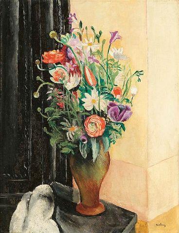 Flowers, 1919 - Moise Kisling