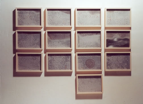 Untitled (Braille), 1999 - Moon Pil Shim