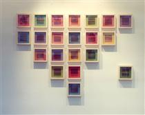 Untitled (Lettres) - Moon Pil Shim