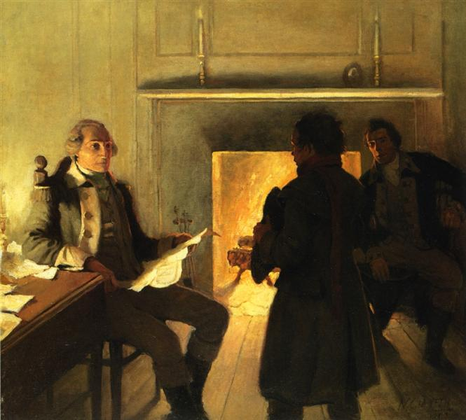 What is Your Name, My Boy, 1907 - N.C. Wyeth