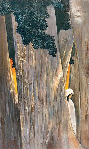 Evening, 1941 - Nandalal Bose