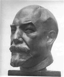 Portrait of A.Lunacharsky - Nathan Altman