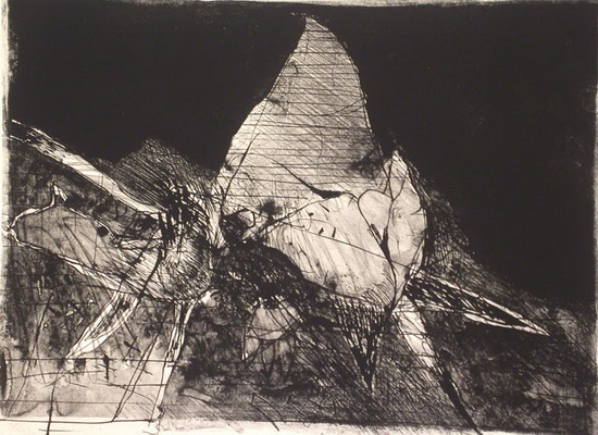 Duccio's Dream, 1964 - Nathan Oliveira