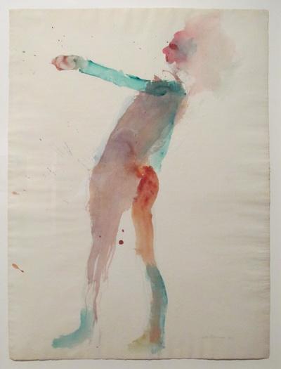 Standing Woman, 1961 - Nathan Oliveira