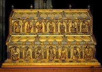 Shrine of the Three Holy Kings, Solomon Side - Nicholas of Verdun