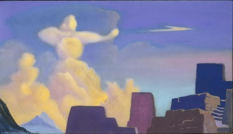 Defender. Cloud-archer., 1937 - Nicholas Roerich