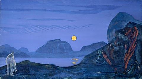 Final journey, 1922 - Nicholas Roerich