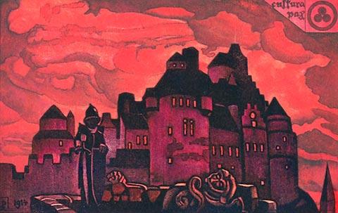 Glow, 1931 - Nicholas Roerich