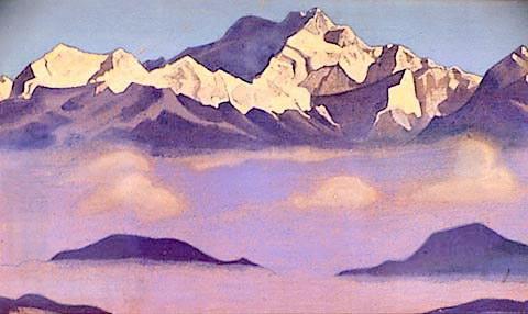 Kangchenjunga, 1947 - Nicholas Roerich