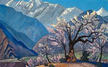 Krishna (Spring in Kulu) - Nikolai Konstantinovich Roerich