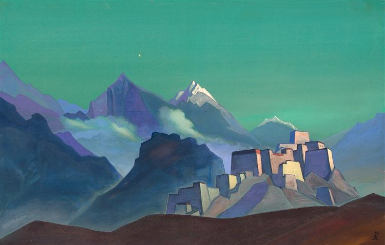 Morning star, 1932 - Nicholas Roerich