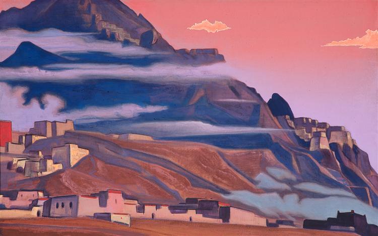 Shekar Dzong, 1933 - Nicholas Roerich