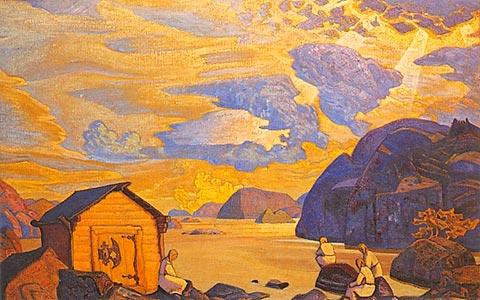 Wait, 1917 - Nicholas Roerich