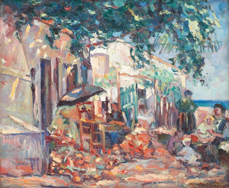 Mangalia Yard, 1925 - Nicolae Darascu
