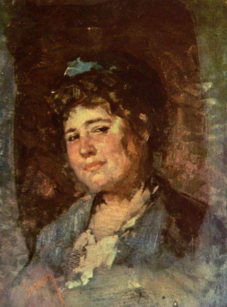 Portrait of Alexandrina Filionescu - Nicolae Grigorescu
