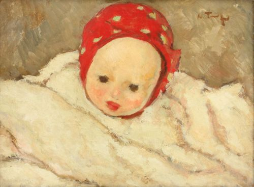 Child Head - Nicolae Tonitza