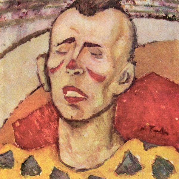Clown, 1925 - Nicolae Tonitza