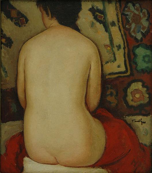 Nude, 1927 - Nicolae Tonitza