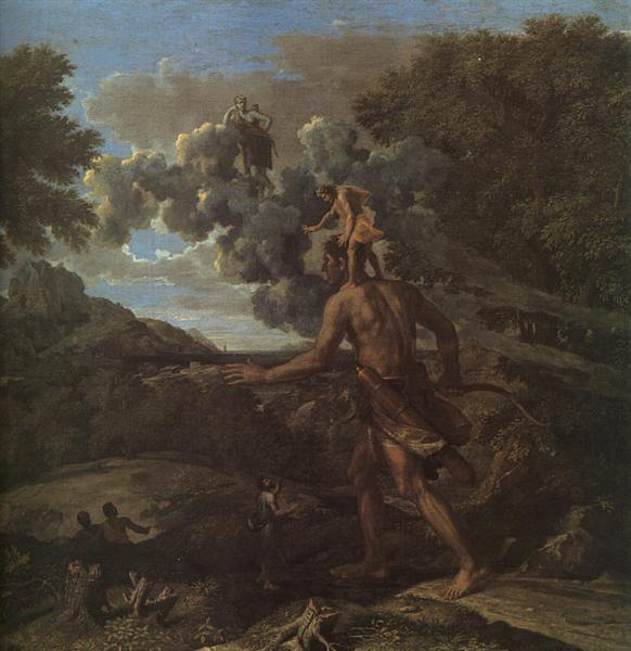 Blind Orion Searching for the Rising Sun, 1658 - Nicolas Poussin