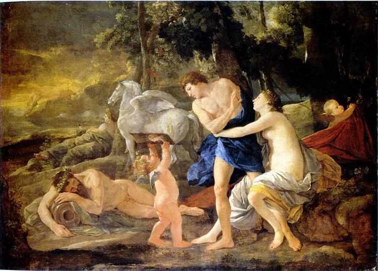 Cephalus and Aurora, 1630 - Nicolas Poussin