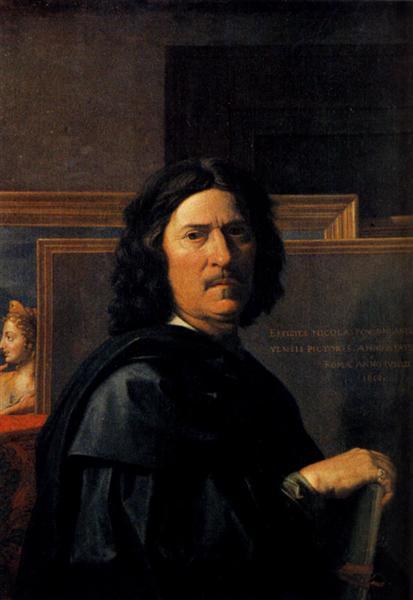Self Portrait, 1650 - Nicolas Poussin