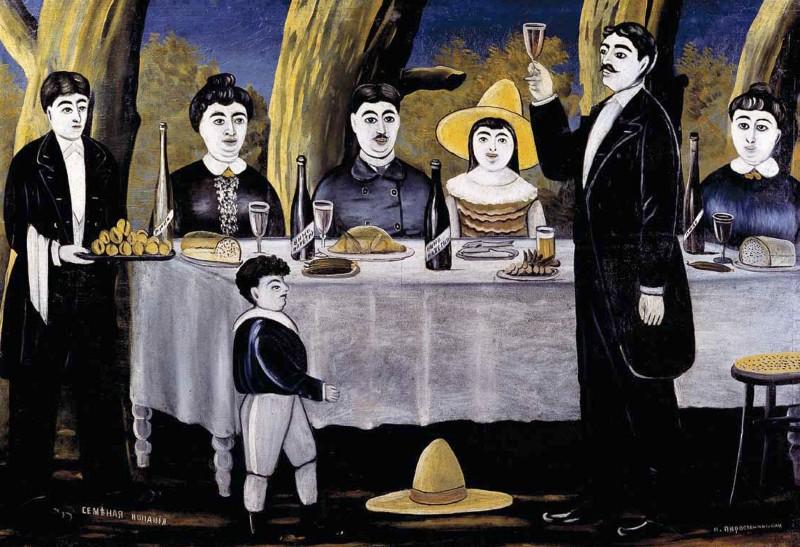 Family feast, 1907