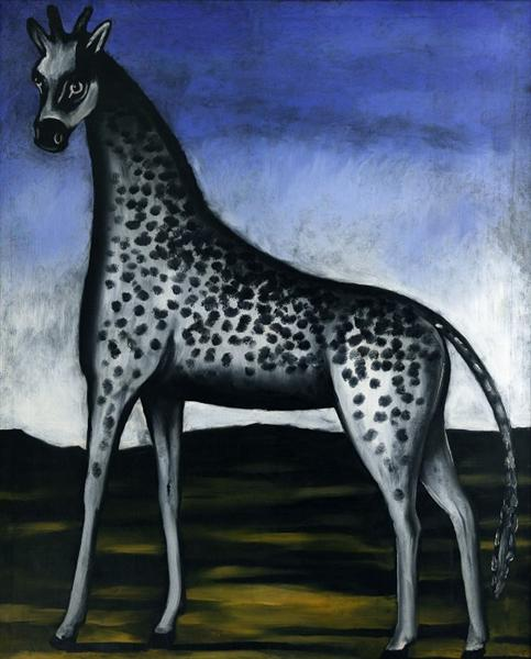 Giraffe, c.1905 - Niko Pirosmani