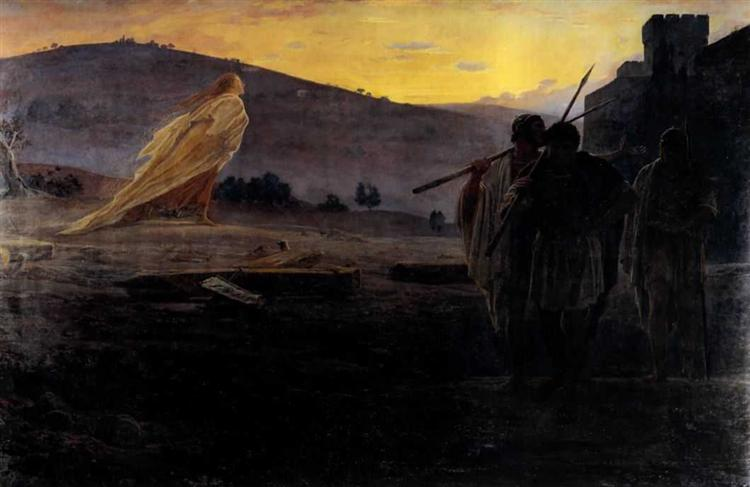 Harbingers of the Resurrection, 1867 - Nikolai Ge