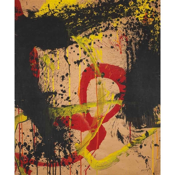 Untitled, 1962 - Norman Bluhm