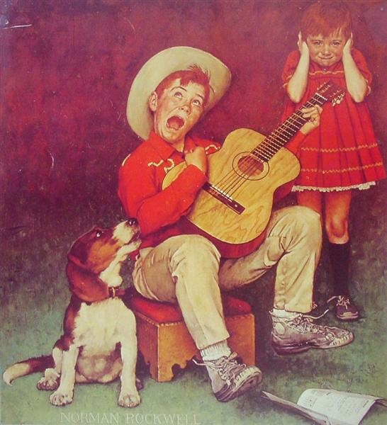 The Music Man, 1966 - Norman Rockwell