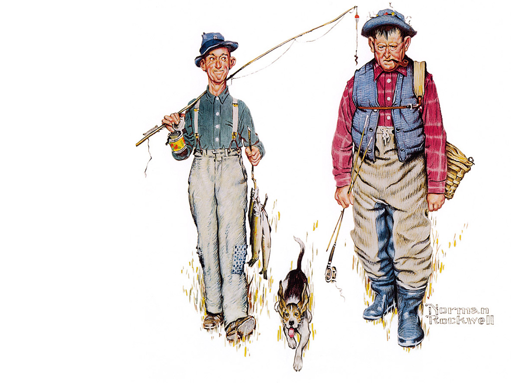 http://uploads5.wikipaintings.org/images/norman-rockwell/two-old-men-and-dog.jpg