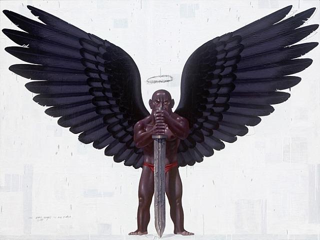 Dark Angel - Nyoman Masriadi