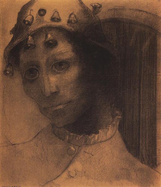 Madness, 1883 - Odilon Redon