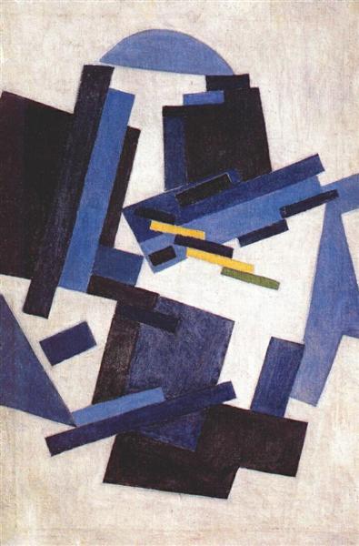 Abstract Composition, c.1910 - Olga Rozanova - WikiArt.org