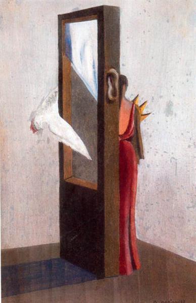 La guillotine, 1938 - Oscar Dominguez