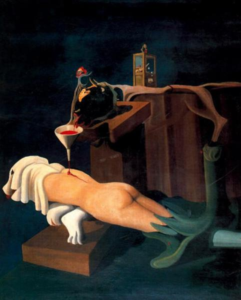 Máquina de coser electro-sexual, 1934 - Oscar Dominguez