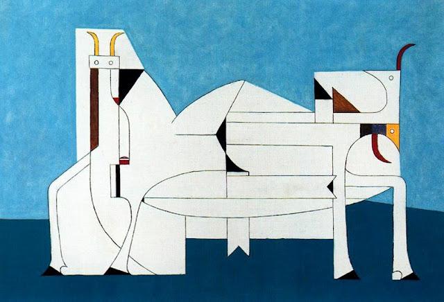 Toros, 1950 - Oscar Dominguez