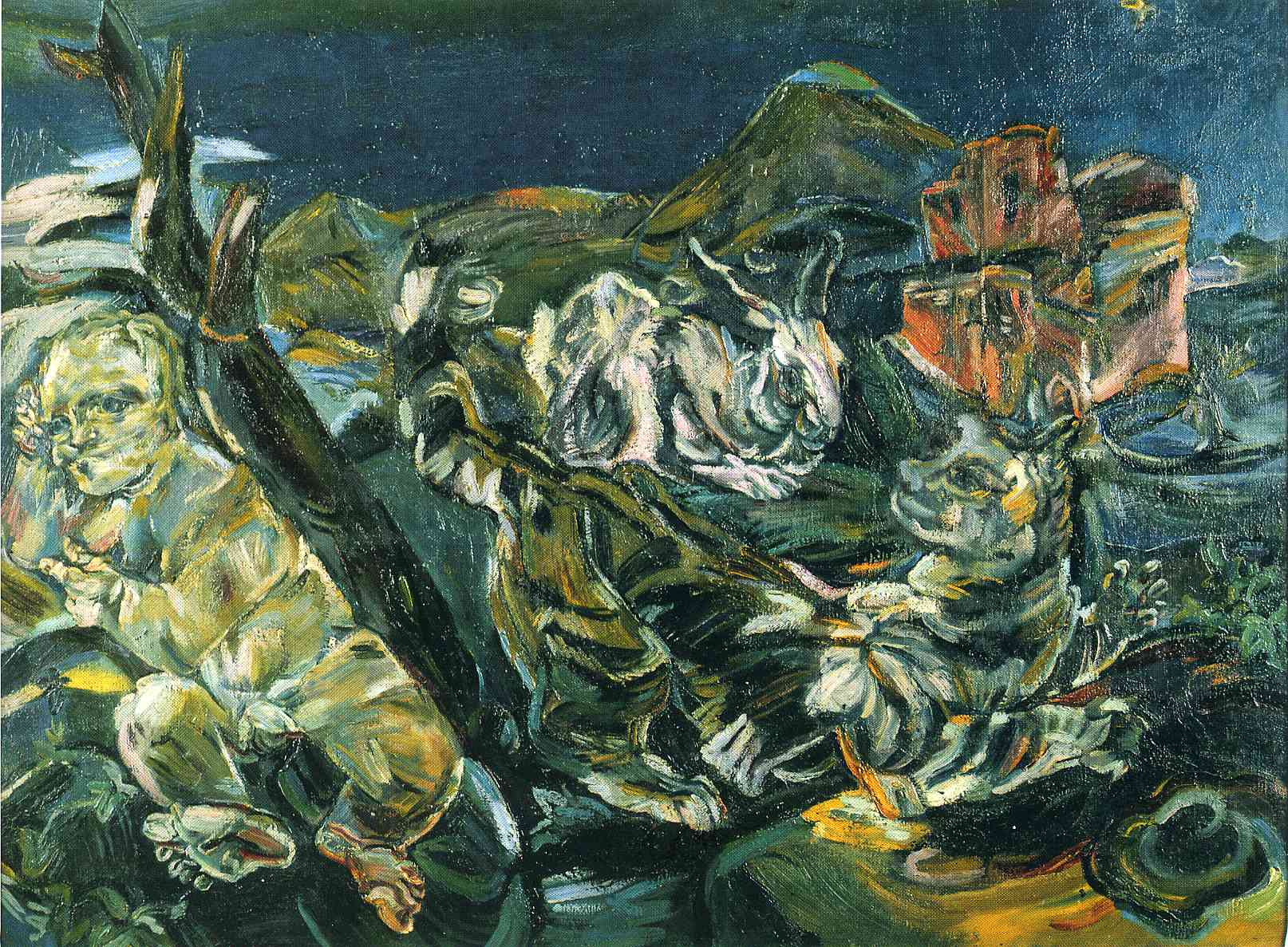 the life and works of oskar kokoschka Oskar kokoschka (1 march 1886 – 22 february 1980) was an austrian artist, poet and playwright best known for his intense expressionistic portraits and landscapes he was born in pöchlarn, second child to gustav josef kokoschka, a czech goldsmith, and maria romana kokoschka (née loidl) his older .