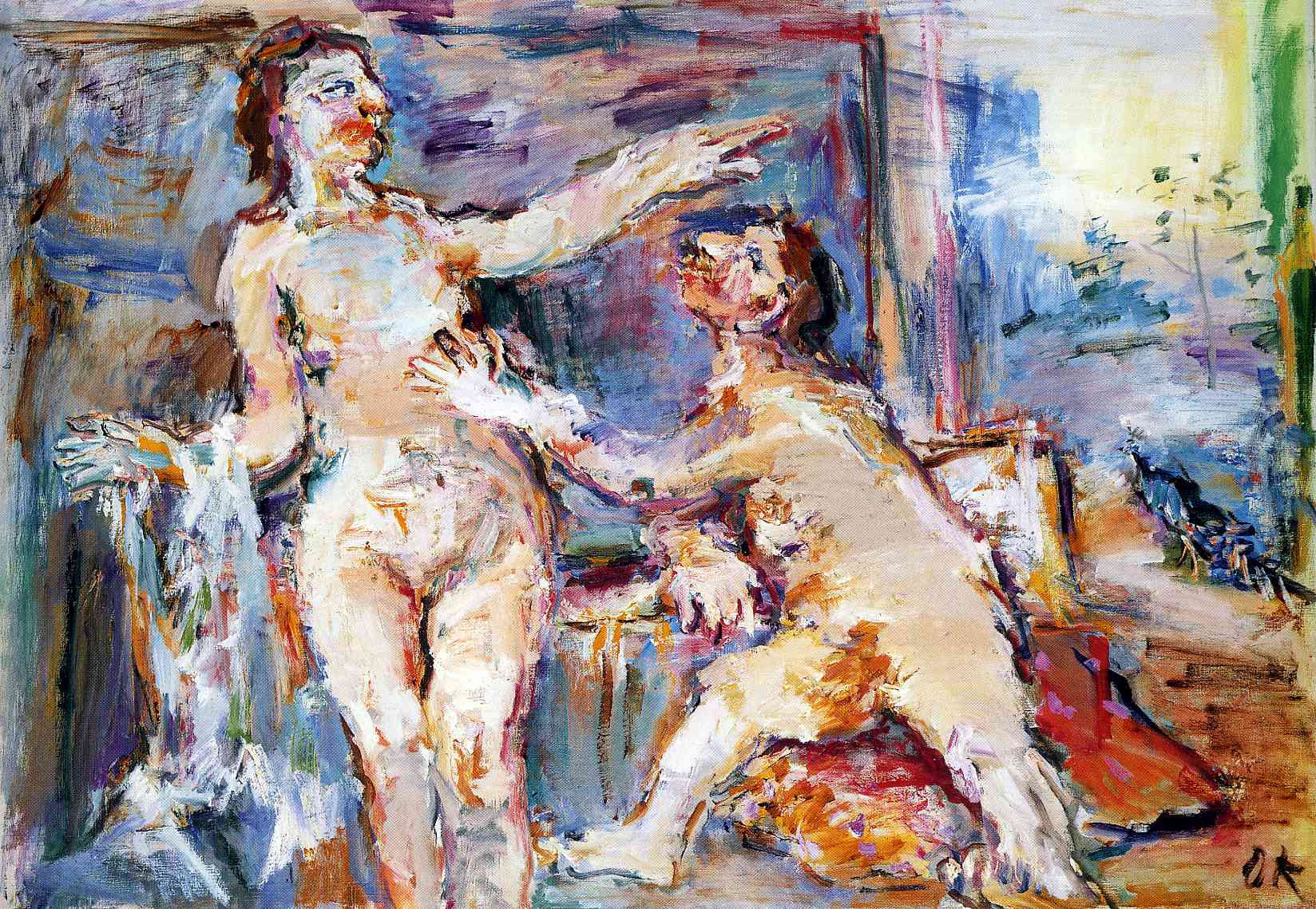 Image result for kokoschka 1966: The Rejected Lover