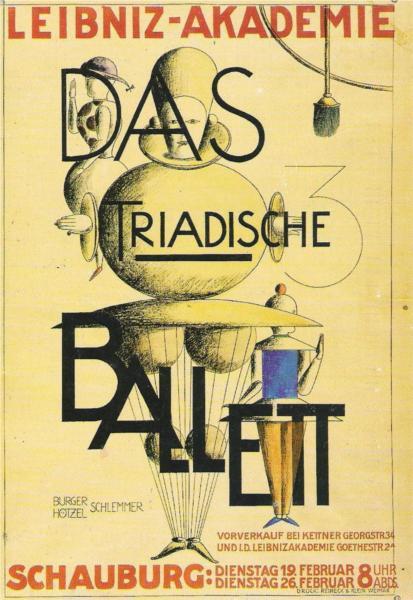 The Triadic Ballet - Oskar Schlemmer