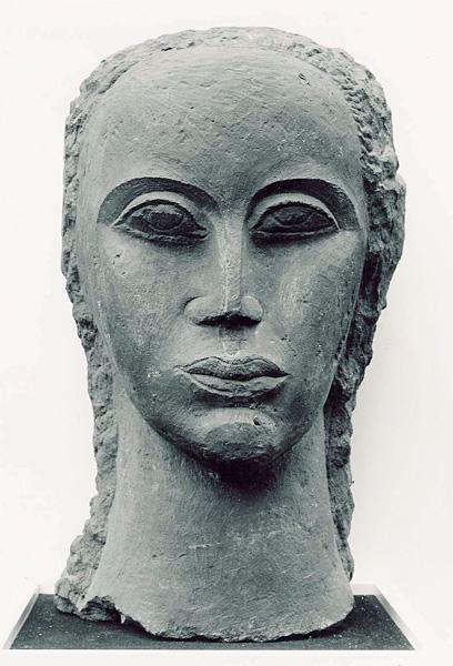 Female head, 1931 - Ossip Zadkine