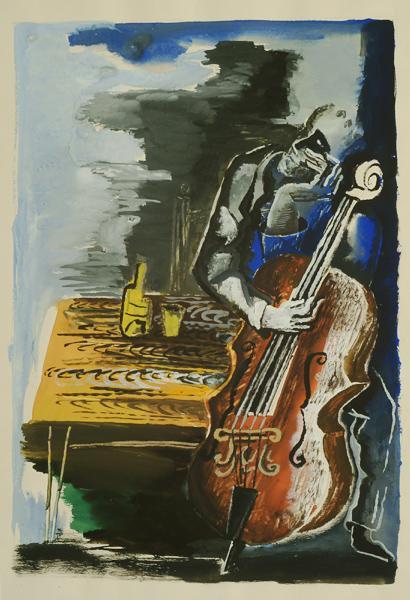 Inspiration, 1955 - Осип Цадкин