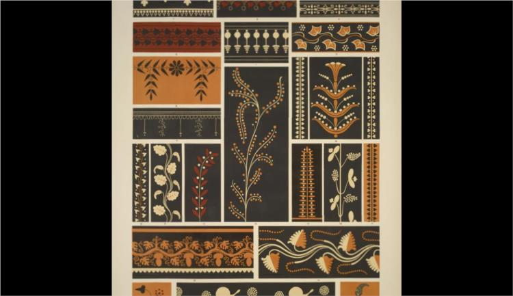 Greek No 7 Ornaments From Greek And Etruscan Vases Owen Jones