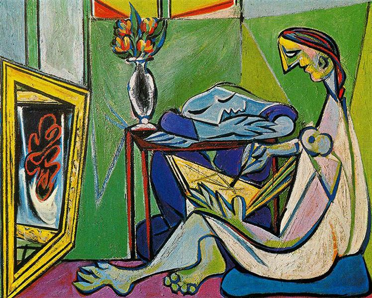 A muse, 1935 - Pablo Picasso