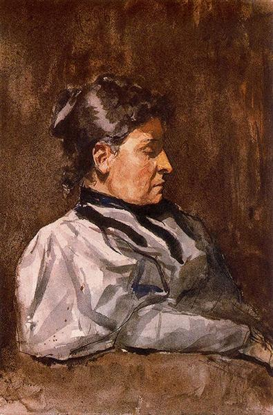 Artist's mother, 1896 - Pablo Picasso
